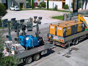 Brunetti Generatori - Noleggio Gruppi Elettrogeni e Torri Faro