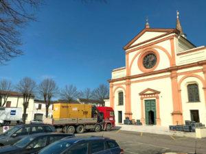 Riprese televisive RAI a Bozzolo - Mantova 2