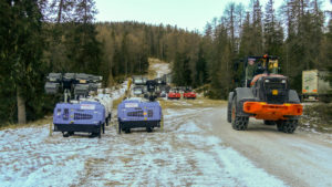 Pista della Coppa del Mondo Snowboard a Cortina 2