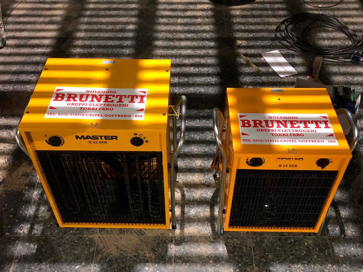 generatori di aria calda - stufette